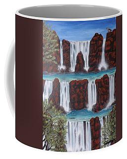 Wolf Spirit Falls Coffee Mug