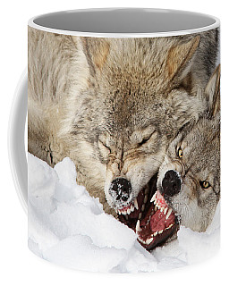 Wolves Rules Coffee Mug