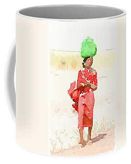 Woman Bag Coffee Mug