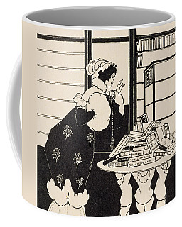 Woman In A Bookshop Coffee Mug