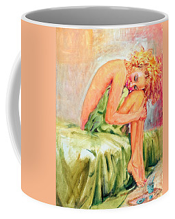 Woman In Blissful Ecstasy Coffee Mug