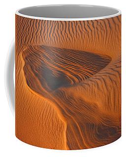Woman In The Dunes Coffee Mug