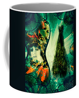Green Mystery Montage Coffee Mug