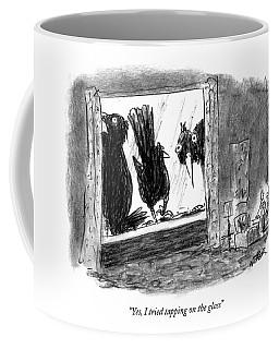 Woman On The Phone Coffee Mug