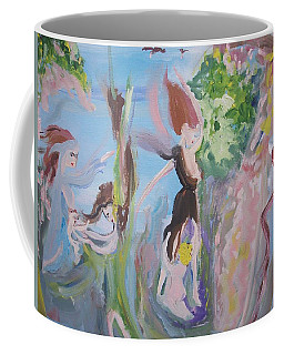 Woman The Nurturer Coffee Mug by Judith Desrosiers