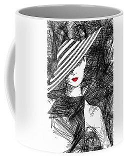 Woman With A Hat Coffee Mug