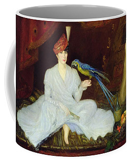 Woman With A Parrot, 1905 Oil On Canvas Coffee Mug