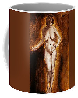 Women With Curves Are Beautiful 2 Coffee Mug by Michael Cross