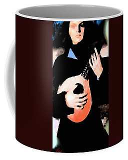 Women With Her Guitar Coffee Mug