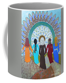 Women's Circle Mandala Coffee Mug