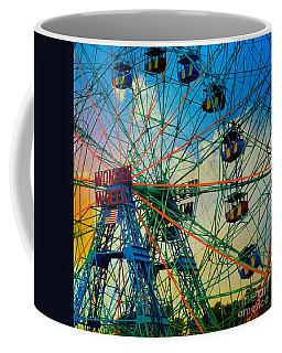 Wonder Wheel Coffee Mug by Lilliana Mendez
