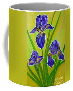 Wonderful Iris Flowers 3 Coffee Mug