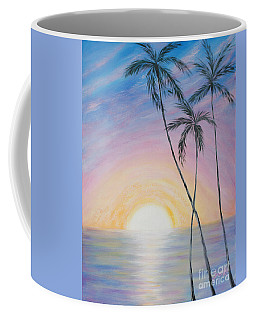 Wonderful Sunrise In Paradise Coffee Mug