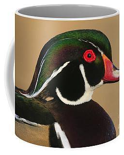 Wood Duck Color Coffee Mug