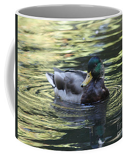 Coffee Mug featuring the photograph Wood Duck by John Telfer
