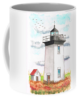 Wood End Lighthouse - Massachusetts Coffee Mug
