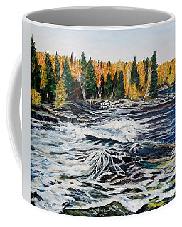 Wood Falls 2 Coffee Mug