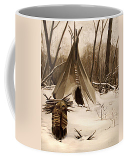 Wood Gatherer Coffee Mug