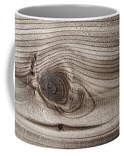 Wood Knot Abstract Coffee Mug