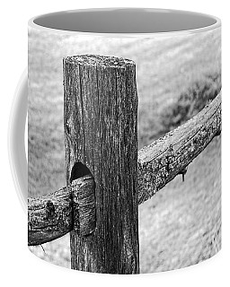 Wood Railing Coffee Mug
