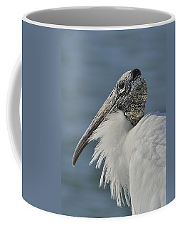 Wood Stork Portrait Coffee Mug