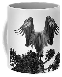 Wood Stork Spread Coffee Mug