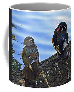 Coffee Mug featuring the photograph Wood You Love Me Forever by Robert Meanor