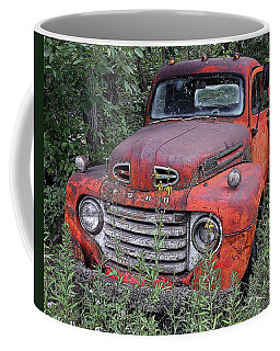 Coffee Mug featuring the photograph Wooded Ford by Christopher McKenzie