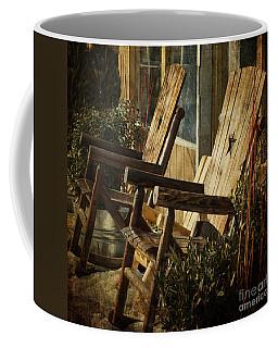 Wooden Chairs Coffee Mug