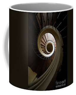 Wooden Spiral Coffee Mug