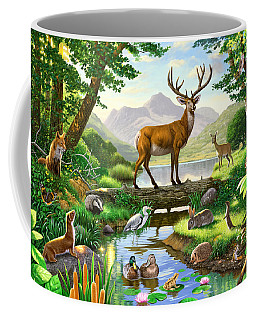 Woodland Harmony Coffee Mug