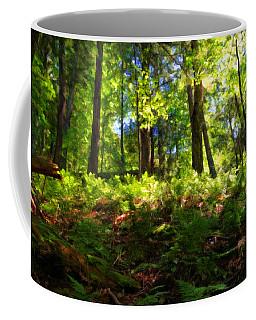 Woodland Coffee Mug by Lars Lentz