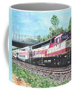 Worcester Bound T Train Coffee Mug