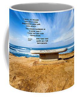 Words Above The Bench Coffee Mug