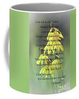 Words For My Teen Coffee Mug by Cathy  Beharriell