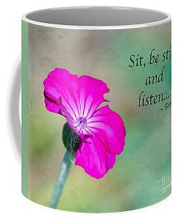 Words From Rumi Coffee Mug