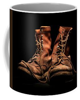 Work Boots Coffee Mug by Christopher McKenzie