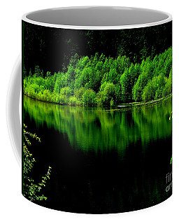 Work In Green Coffee Mug by Greg Patzer