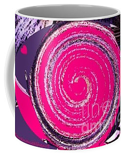 Coffee Mug featuring the digital art Work Of Art by Catherine Lott