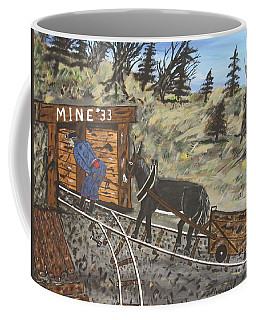 The Coal Mine Coffee Mug by Jeffrey Koss