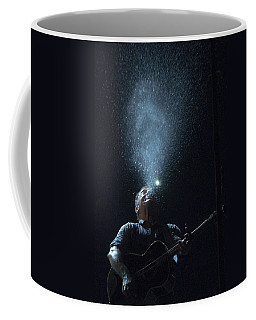 Coffee Mug featuring the photograph Working On The Highway by Jeff Ross