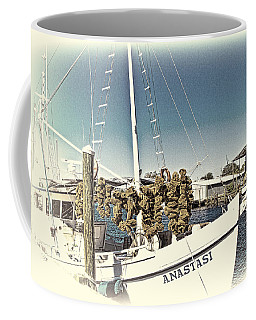 Working Sponge Boat Coffee Mug