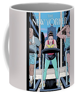 Workout Reading Coffee Mug