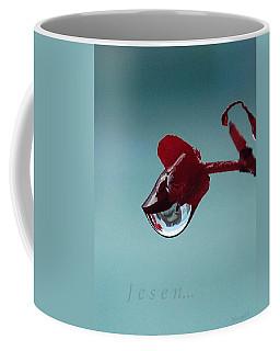 World In A Drop Coffee Mug by Marija Djedovic