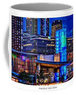 World Of Coca Cola Poster Coffee Mug