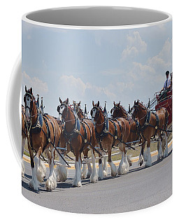 World Renown Clydesdales 2 Coffee Mug