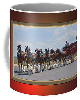 World Renown Clydesdales Coffee Mug