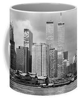 New York City - World Trade Center - Vintage Coffee Mug