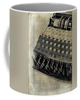 World War II Enigma Secret Code Machine Coffee Mug