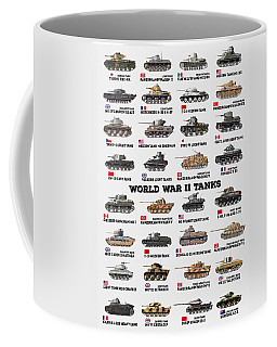 World War II Tanks Coffee Mug